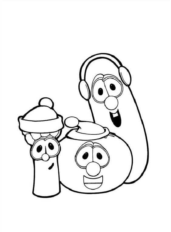 The Ultimate VeggieTales Web Site Coloring