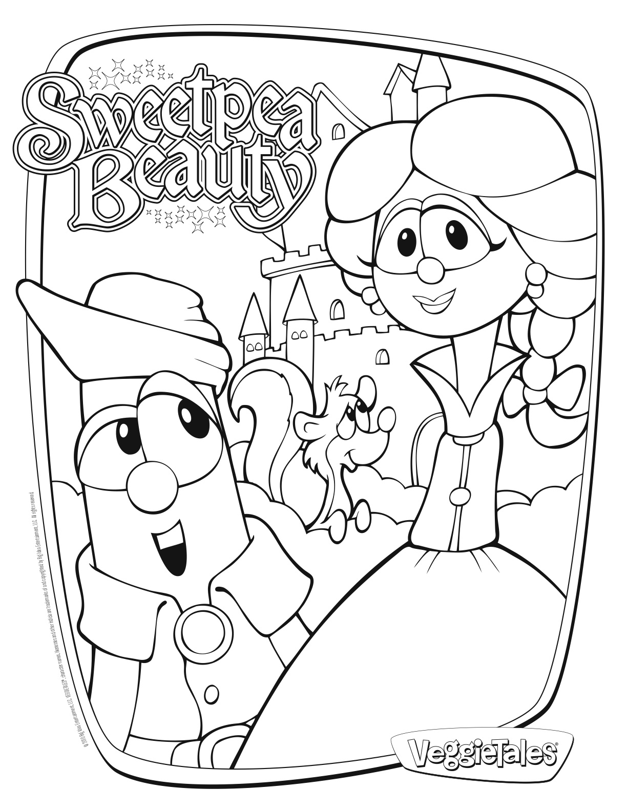 the pirates movie - Veggie Tales Coloring Pages